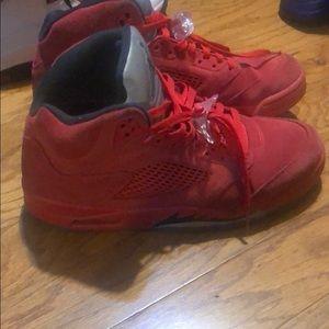 Jordan suede 5 size 11